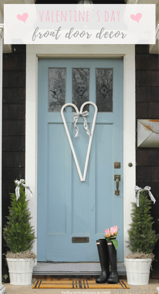 Sweet & Simple Valentine's Day Front Door