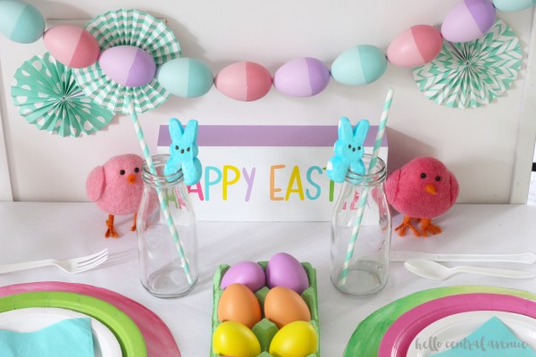 Kid's Easter Table 3