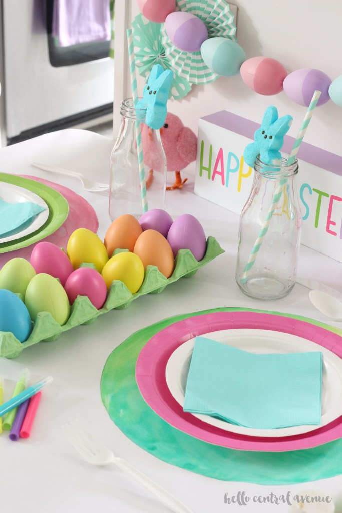 Easter Kids' Table