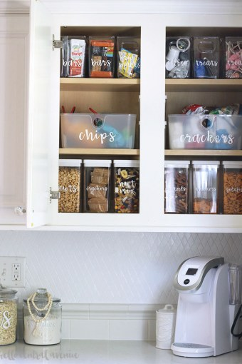 Organize Your Kitchen with the Best Food Storage Containers & Labels