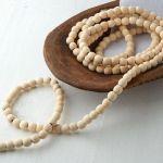 wooden beads garland