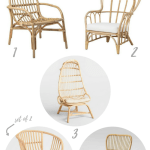 Check out these affordable and adorable rattan chairs! Get the look of Serena and Lily for way less!