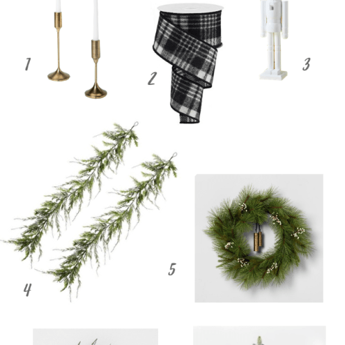 These are the Christmas home decor items that I just can't live without this year! Neutral colors, faux greens, and gold are all part of my winter home decor! Read on to see what I'm using this season.