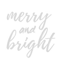 Merry & Bright Print dark