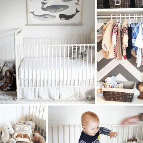 Adorable vs. Affordable: Iron Post Crib