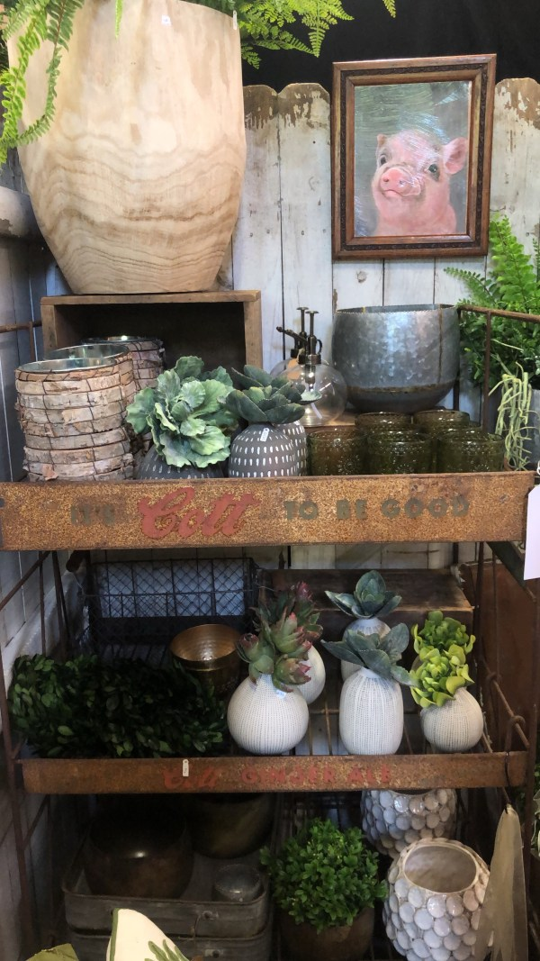 The Country Living Fair is a huge flea market filled with unique vintage and handmade treasures! Don't be fooled by its name though, because you can find pieces for all different home decor styles!