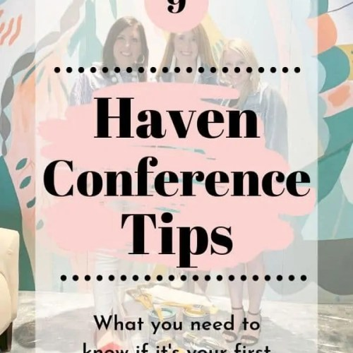 9 Tips for Your First Time at Haven Conference