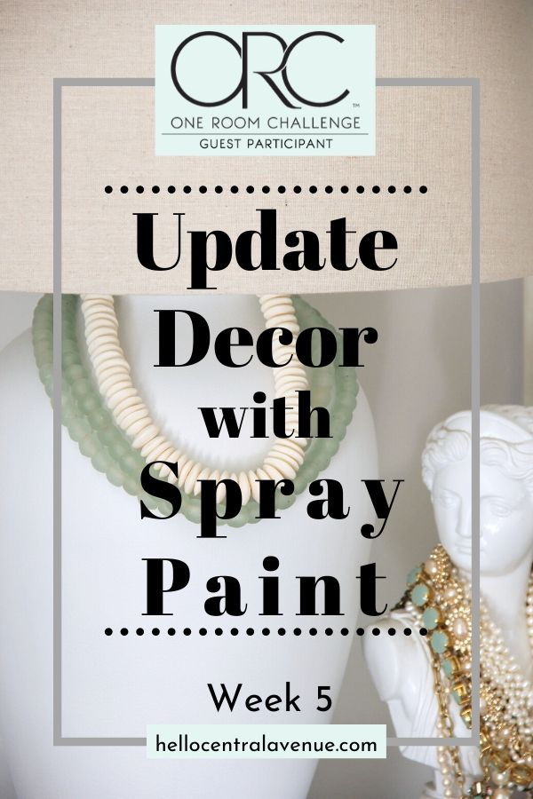 Take a look at these spray paint ideas for easy ways to update your home!