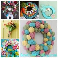 Weekly Inspiration- Easter Wreaths & Door Decorations