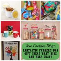 Inspiration- DIY Father's Day Gifts Kids Can Help Craft