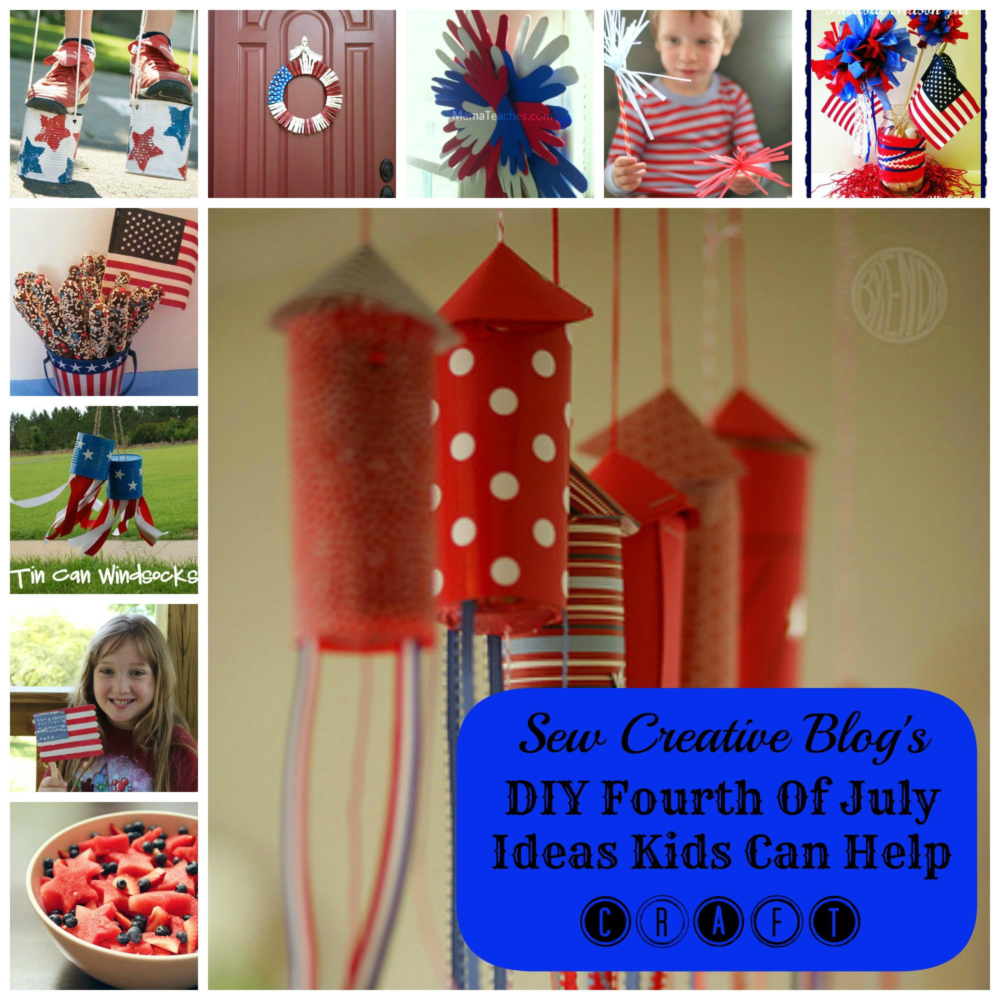 Inspiration Diy Fourth Of July Ideas Kids Can Help Craft