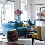 Gray Teal And Yellow Color Scheme Decor Inspiration