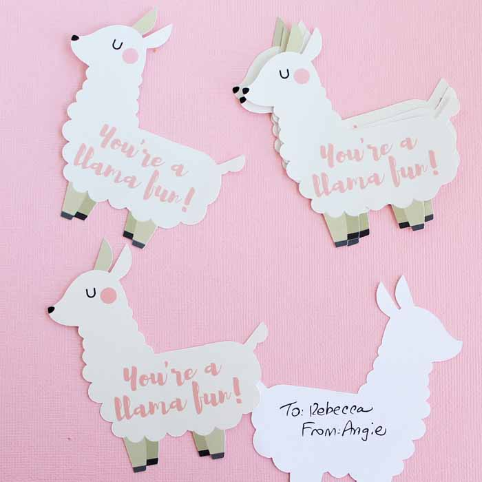 55 Lovely Llama Crafts Printables SVGs DIYs Food And