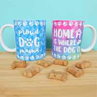 13 Wrapped Mug SVGS Including Proud Dog Mama Cut File