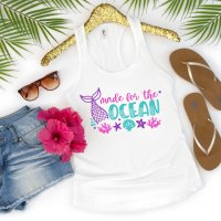 Made For The Ocean Mermaid SVG File