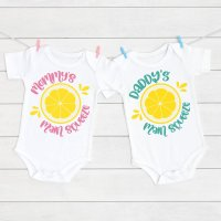 Daddy and Mommy Main Squeeze SVG + 8 Lemon Cut Files