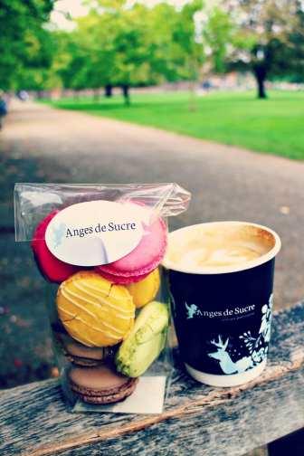 Coffee in Kensington Gardens