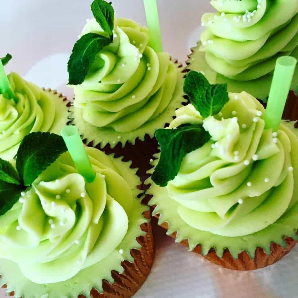 Mojito cupcake recipe