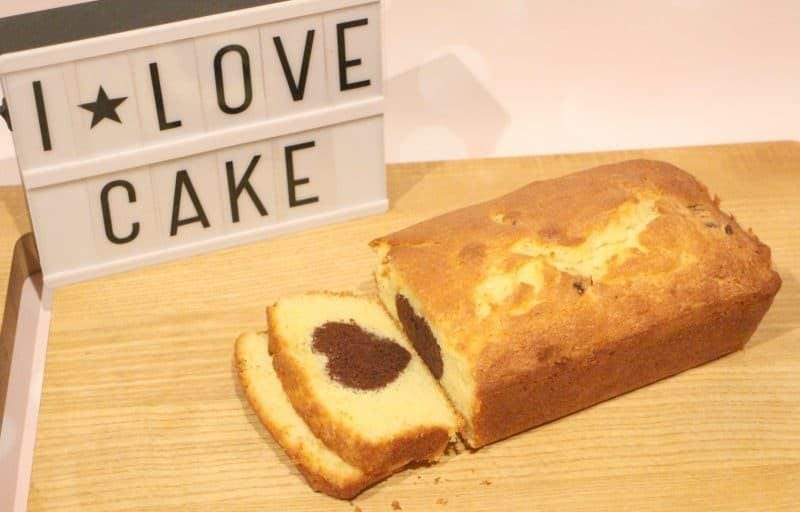 sliced loaf cake
