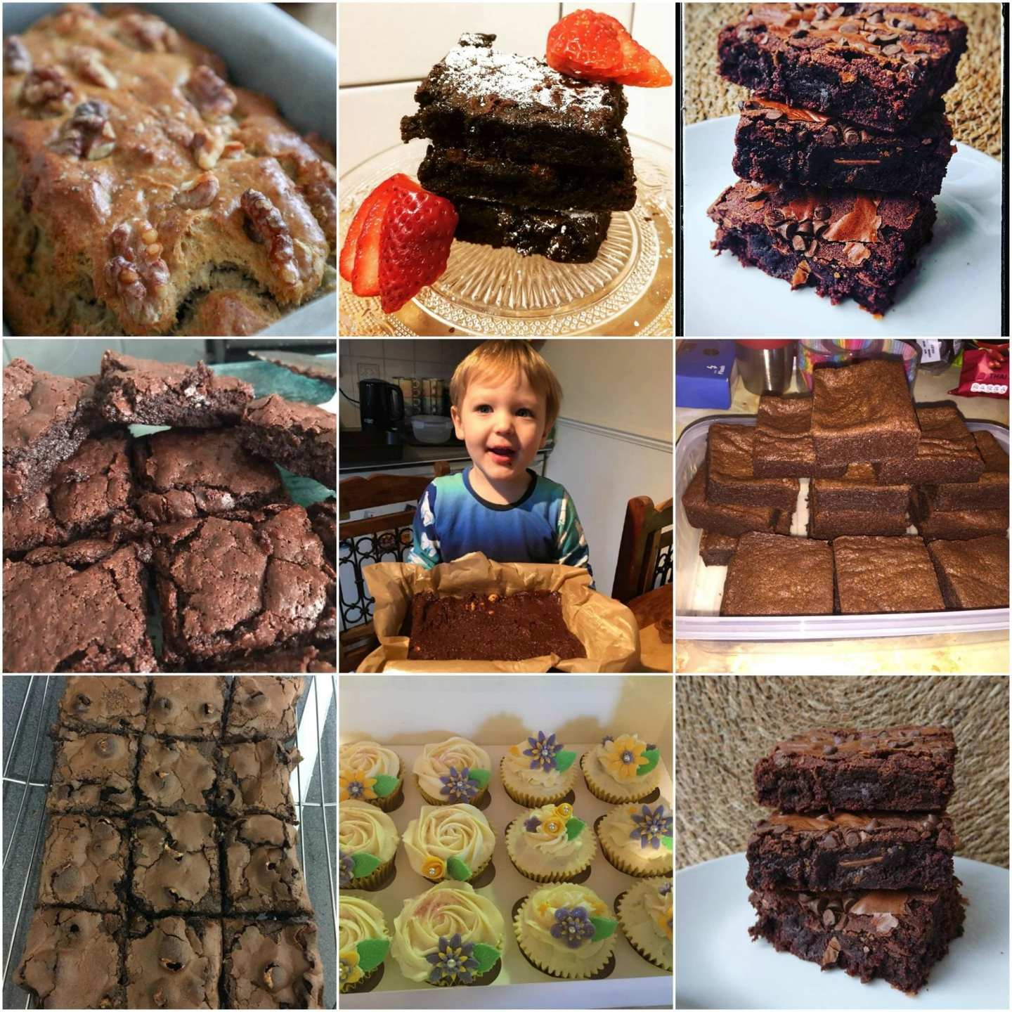 Monthly Round Up - January 2018 - Cakes, Bakes and Blog Updates