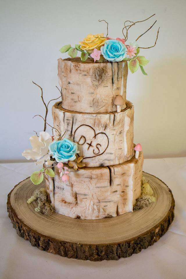 A Wedding Cake at Burnham Beeches