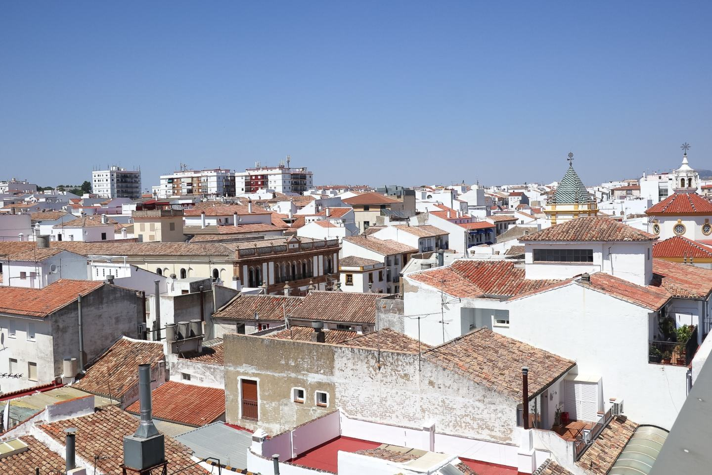 White-washed Spanish town