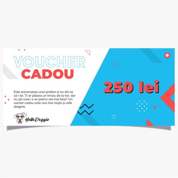 Voucher-Cadou-250 LEI-Hello Doggie