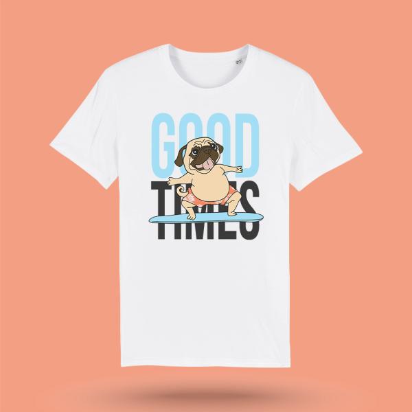 tricou-alb-barbati-good-times