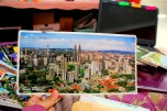 The biggest postcard that I've ever received. From Malaysia.
