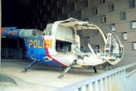 Broken helicopter.
