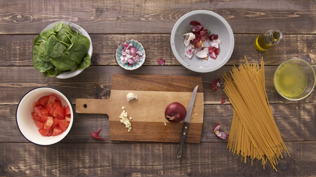 weeknight meals-kitchen-shortcuts-scrap-bowl-HelloFresh