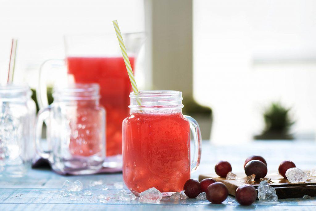 picnic menu-HelloFresh-lemonade-grape-drink-grapeade