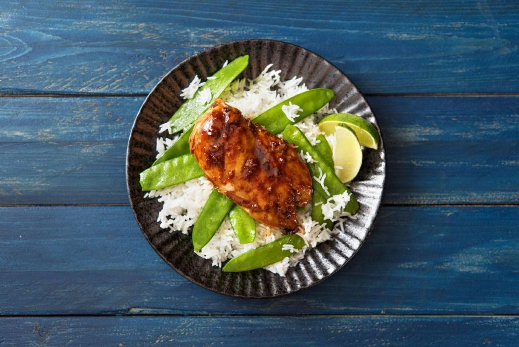 different ways to cook chicken-honey-ginger-glaze-recipe-HelloFresh