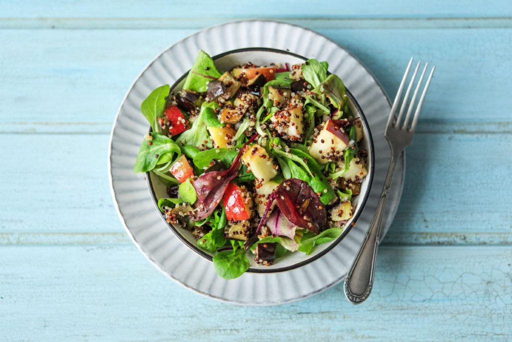 recipes with apples-quinoa-salad-HelloFresh