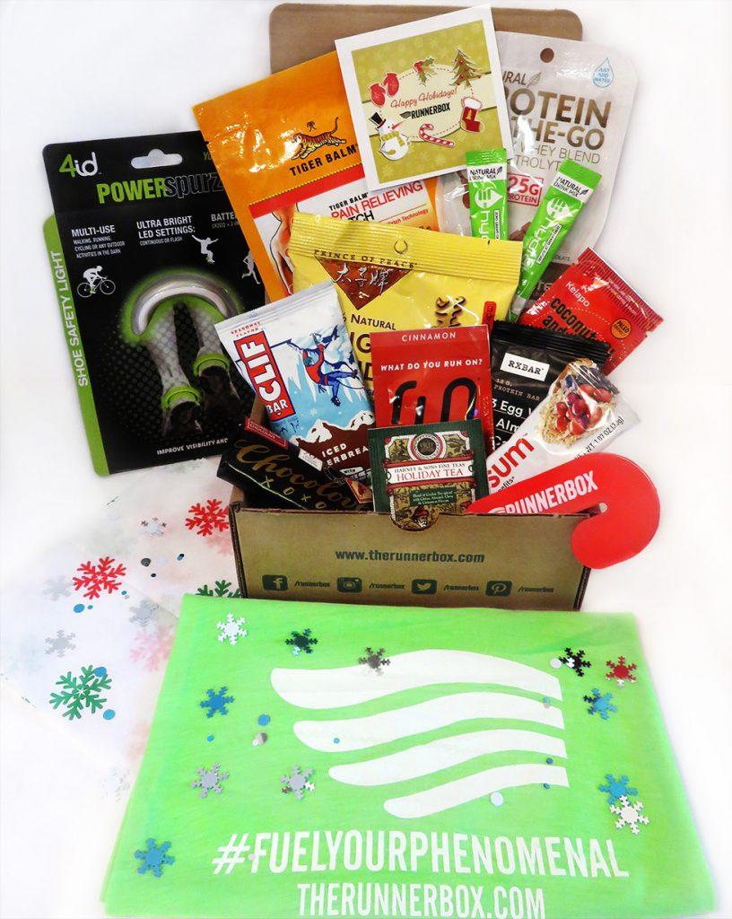 holiday gift guide-HelloFresh-runnerbox