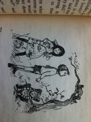 Illustration from the enchanted wood
