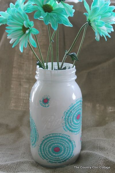 or just decorate a jar
