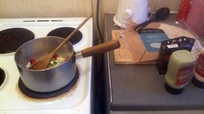 Having the desire to cook from scratch
