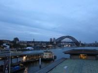 Moody Sydney skies