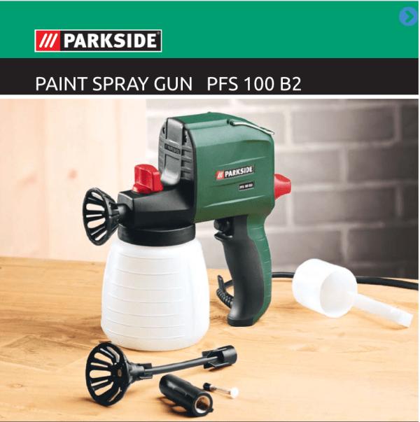 Parkside electric spray gun