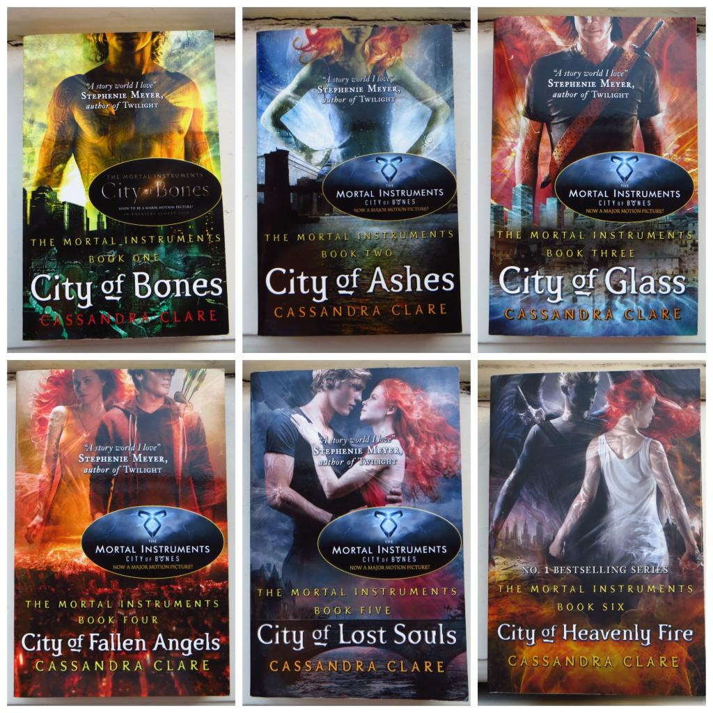 Image result for the mortal instruments books