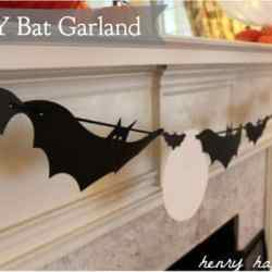 DIY Bat Garland {Free Download!}