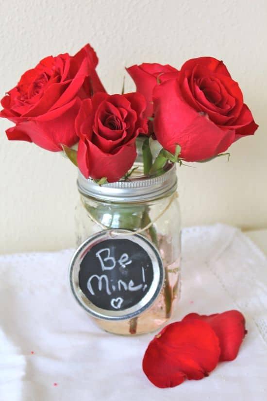 DIY Mason Jar Vases | HelloGlow.co