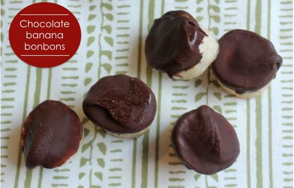 chocolate banana bonbon recipe