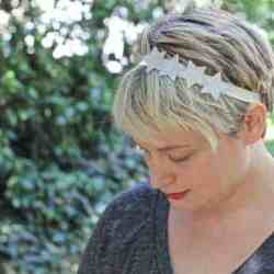 DIY Sparkly Star Headband