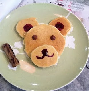 Giveaway WINNER and Bear Pancakes