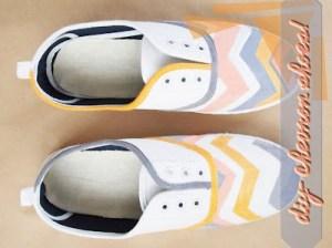 chevron sneakers