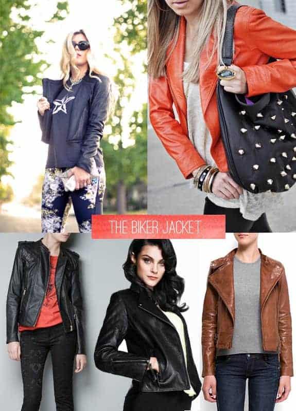 fall essentials biker jacket