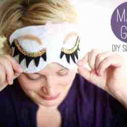 DIY Sleep Mask + Favorite Beauty Tip