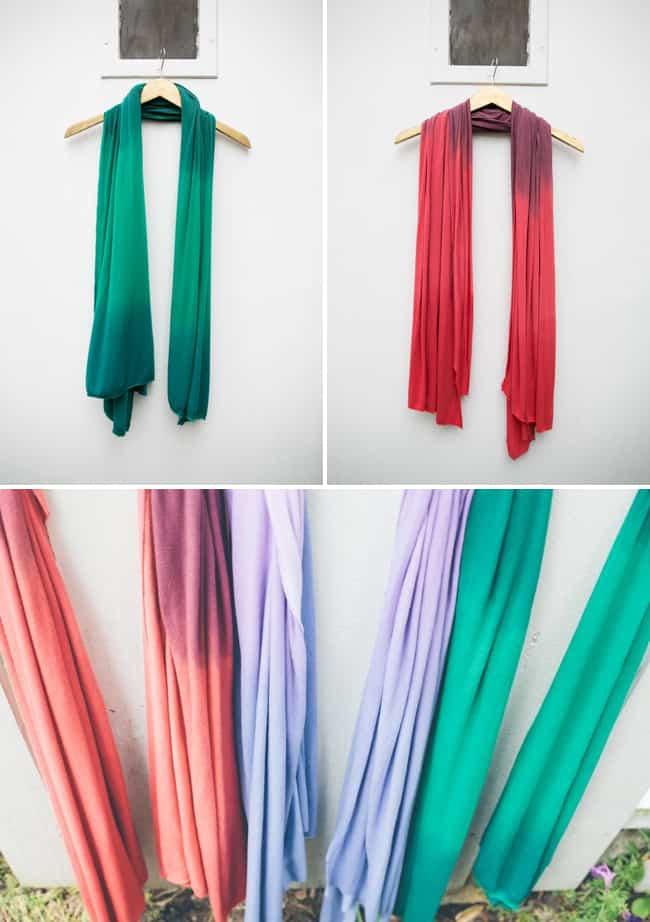 DIY Jersey Scarves | HelloGlow.co